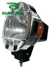 Cheap shipping ! 12V/35W auto HID spot/flood Light, 7' HID off road light ,hid driving Light KF-3733+ 14months warranty