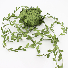 20meters Artificial Green Flower Leaves Rattan DIY Garland Accessory For Home Decoration(China)
