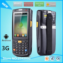 3.5 inch handheld data thermal wireless Android 1D 2D laser barcode scanner POS data collector PDA with bluetooth, Wifi,GPS(China)