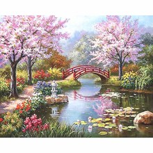 Unframed DIY Painting By Numbers Kit Coloring Paint On Canvas Handpainted Oil Painting Home Decor For Artwork 40*50cm Fairyland
