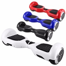 6.5 inch Hoverboards electrico Bear Pattern Kids 2 Wheels Hover board elektroroller self balance scooters US Plug With Bag(China)