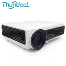 ThundeaL LED96 LED96+ LED96W Android Projector Proyector Full HD 3D Home Theater Cinema Support 1080p Beamer Multimedia Teaching(China)