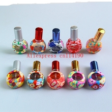 Brand new Mini 200 pcs 8ML Portable Spray Bottle Empty Perfume Bottles Colorful Refillable Perfume Atomizer Travel Accessories