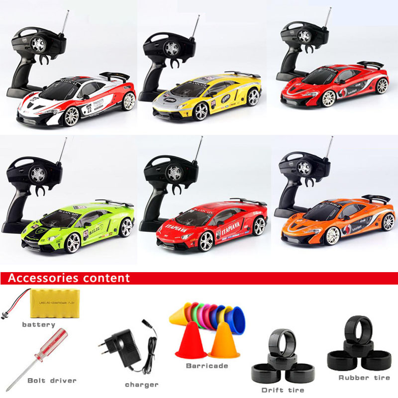 New large remote control car four - wheel - drive drift car high - speed racing car charging car model children 's toy()
