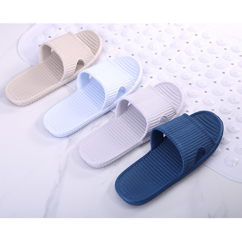 Indoor home slippers men and women non - slip bath bathroom slippers couple home at the end of plastic sandals slippers<br><br>Aliexpress