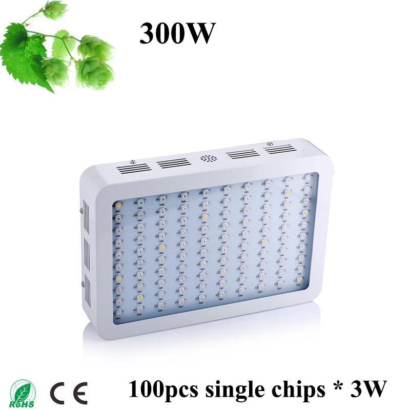 300W LED Grow light full Spectrum Grow Light IR UV RED BLUE ORANGE WHITE For Greenhouse Flower Plants Grow and Flower AC85-265V <br><br>Aliexpress