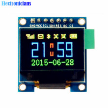 0.95 Inch SPI Full Color OLED Display DIY Module 96x64 LCD For Arduino SSD1306 Driver IC Top Quality(China)