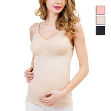 New Maternity Camisole Comfy Pregnant Women Wireless Cami Tank Tops Breast Feeding Top Vest Nursing Underwear(China)
