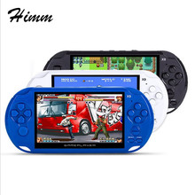Coolboy X9 4.3 inch intelligence handheld game MP3 MP4 300games support download(China)