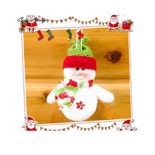 Christmas Decor Xmas Santa Snowman Tree Ornaments Hanging Pendant Gifts Ornament New Year Present Tree Decorations Snowman Doll