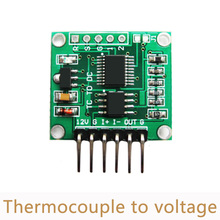 10pcs/lot Thermocouple to voltage transmitter module 0-5V 0-10V K type linear temperature Board cold junction compensation SC08(China)