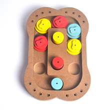 Interactive Toys For Dogs And Cats Food Treated Wooden Pet Chew Toys Dog  Accessories Claw And Bones Brain Game Toys