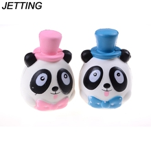 15cm Hot Kawaii Cute Bread Jumbo Cap Panda Squishy Soft Doll Collectibles Cartoon Sweet Scented Slow Rising Buns Phone Straps