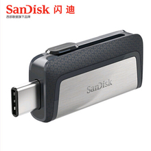 New sandisk 128GB SDDDC2 Extreme high speed Type-C USB3.1 Dual OTG USB Flash Drive 64GB Pen Drives 16GB 130M/S PenDrives 32GB