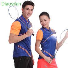 Women/Men table tennis Ping pong team game running training T Shirt New Sportswear sweat Quick Dry breathable badminton shirt