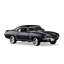 RMZ city 1:36 Camaro SS 69 Toy Vehicles Alloy Pull Back Mini Car Replica Authorized By The Original Factory Model Kids Gift