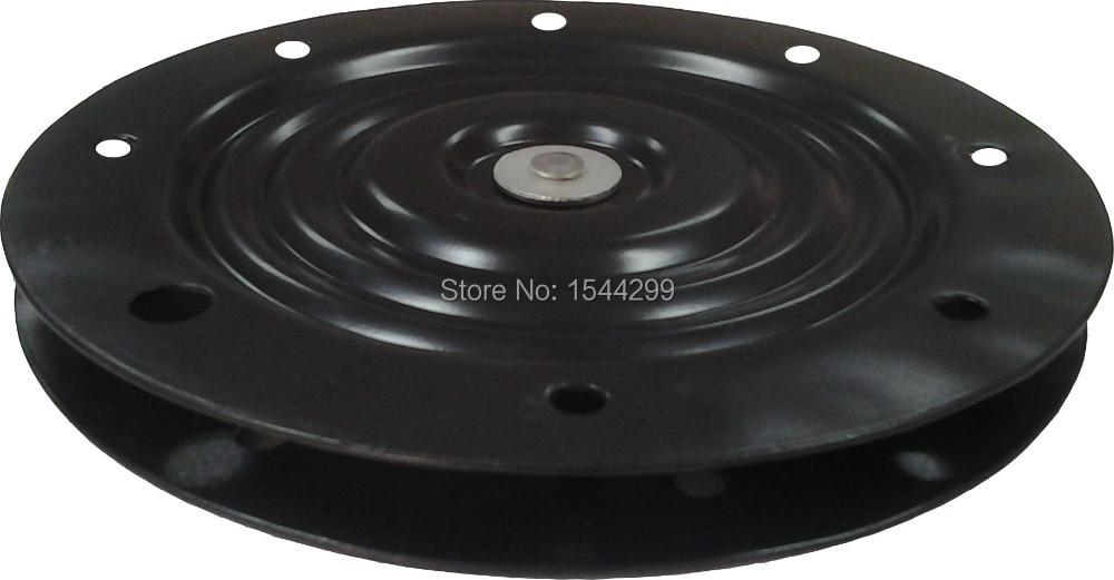 254-миллиметровые аксессуары аппаратных средств мебели, имеющие 250-килограммовый круглый проигрыватель, имеющий пластину шарнира ленивая Сьюзен