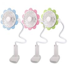 USB Mini Fan Air Conditioner Sunflower Shape Adjustable Electric Rechargeable Desk Cooling for Home Office Use Air Cooler