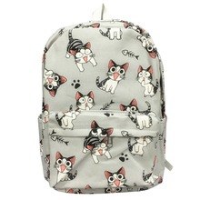 Cartoon Chi'S Cat Backpack School Bags Chi'S Sweet Home Anime Cosplay Cute Cat Rucksack Schoolbag For Kids Gift(China)