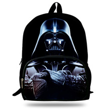 16-Inch Hot Child Character Backpack Star Wars Bag For Kids Boys Girls Star Wars Backpacks For School Students Teenagers Bag