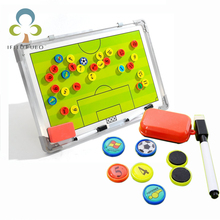 New Magnetic Football Coaching Board Soccer Coach tactics book set with Pen Dry Erase Clipboard Teaching equimpment WYQ(China)
