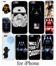 Darth Vader Star Wars Hard Case Cover for iPhone 7 7 Plus 6 6S Plus 5 5S SE 5C 4S Case Cover
