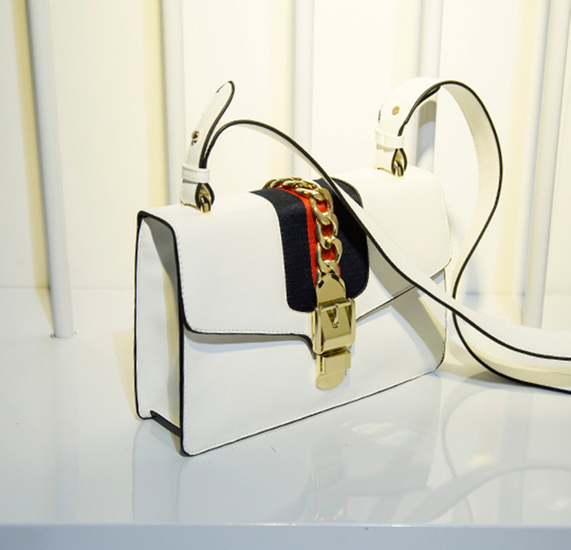 M.S Scarves Panelled Striped Handbags Made Of Leather Brand Small Vogue Shoulder Bags Women Totes Luxury Designer Handbag WB398 (14)