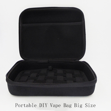 Buy DIY Vape Bag E cigarette Pocket E Cig Case Double Deck Vapor Bag Carrying case Box Mod Electronic Cigarettes Kit for $7.76 in AliExpress store