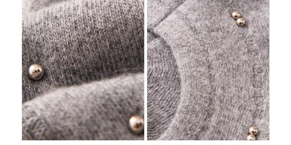 قبعة صوف محبوكة 19