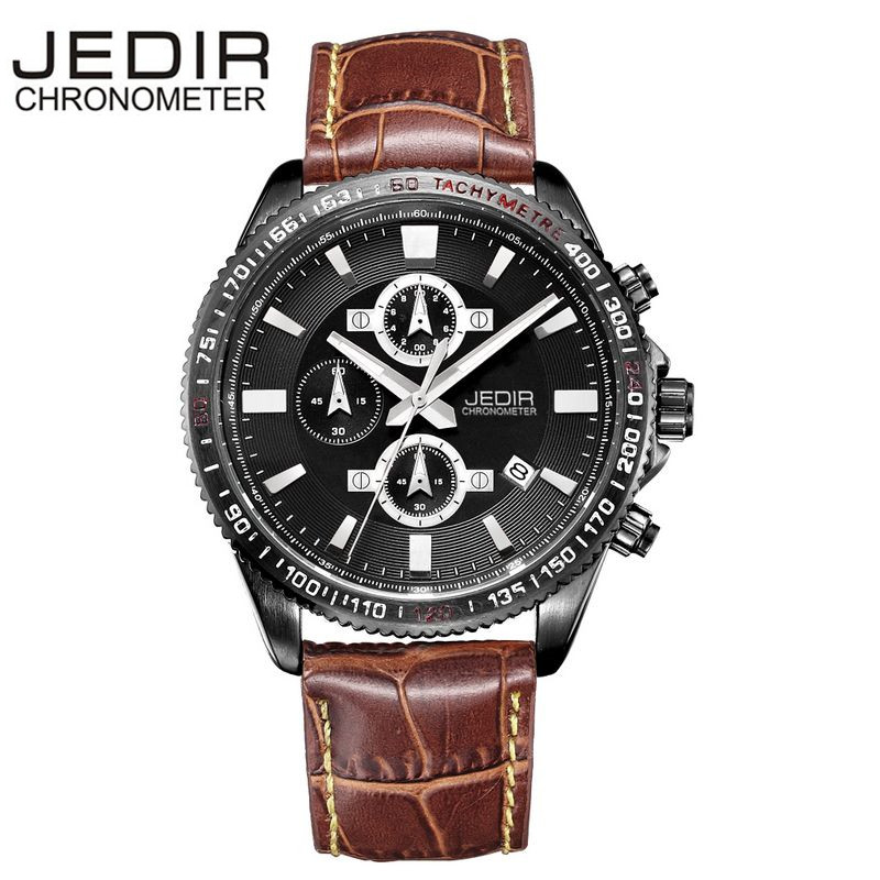 2017 JEDIR Mens Casual Military Watches Sports Quartz Watch Wristwatches Brand clock Relogio masculino Gift Box Free Ship<br><br>Aliexpress
