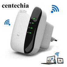 Wireless Wifi Repeater 802.11n/b/g Network Wi Fi Routers 300Mbps Range Expander Signal Booster Extender WIFI Ap Wps Encryption
