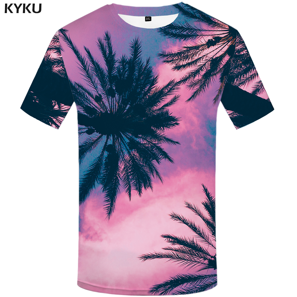 New Fashion Men//Women/'s summer coconut tide 3D Print Casual T-Shirt Short Sleeve