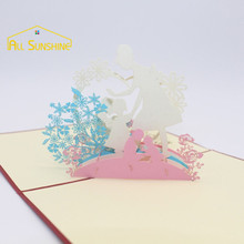 Thanksgiving Mother's Day Creative 3D Greeting Cards Handmade Pop Up Postcard Gift Cards