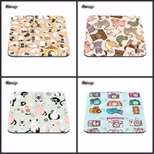 New Arrivals Custom Support Cartoon Cat Mouse Pad, Computer Mouse Pad, Free Design , Rubber Mouse Pad. Notebook Gaming Mat(China)