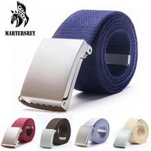 Wholesale Designer Mens Fashion Belt 18 Candy Colors Canvas Belts for Women