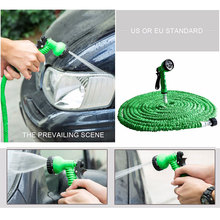 TTLIFE Best Extensible Garden Water Hose 25/50/75/100/125/150FT For Drip Irrigation Car Watering With Spray Gun