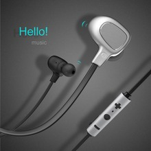 BASEUS Brand B15 Seal Series Aluminum Wireless Bluetooth 4.1 Earphone Stylish Anti-Knotted With Mic For iphone/samsung Universal(China)