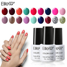 Elite99 7ml UV Nail Polish Long Lasting Beautiful Colors Nail Primer Gel Varnishes Gelpolish Nail Lacquer