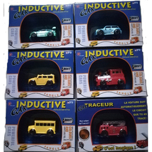 retail box package MINI Magic Pen Inductive Fangle vechicle Children's CAR Truck Tank Toy Car