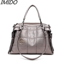 Promote Ms Package Real Leather Fashion Handbags 2017 High Grade Sheepskin Female Bag Brand Single Shoulder Bag Multi Function(China)