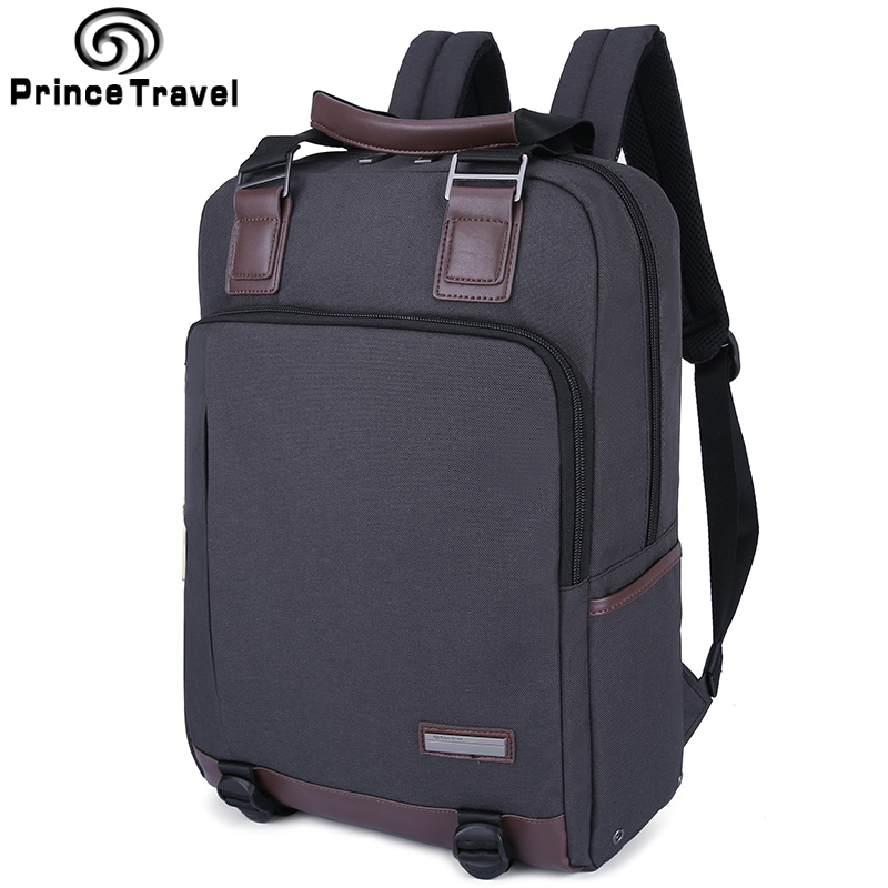 Prince Travel Daypack Multifunction Business Backpack For Men Capacity MenS Totes Leisure Backpacks For 15 16 Inch School Bag <br>