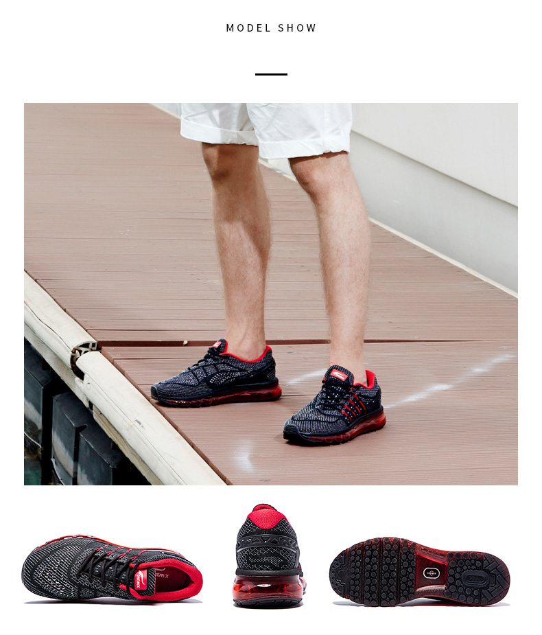 17 Air Cushion Running Shoes Breathable Massage Sneakers Man Jogging Sport Sneakers for Outdoor Walking Shoe Run Comfortable 9