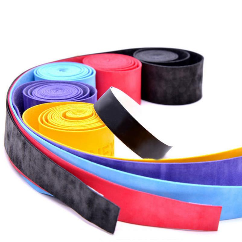 New 2Pcs Anti-slip Tennis Grip Sport Over Grip Sweatband Tennis Overgrips Tape Badminton Racket Grips Sweatband Squash Tape