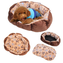 Pet Dog Cat Soft Bed Comfortable Puppy Plush House Nest Sleep Warm Hot Sale Puppy Dog Soft Sofa Dog Bed Goods for Pets