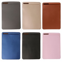 1Pc 2017 New Faux Leather Sleeve Case Pouch Bag Cover With Pencil Slot For iPad Pro 9.7 10.5 Inch Multicolor High Quality C26