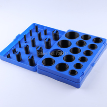 High quality Metric 70 Nitrile Rubber O Ring Set Assortment Kit Auto Oring 386PCS SI-386-BLUE FREE SHIPPING(China)