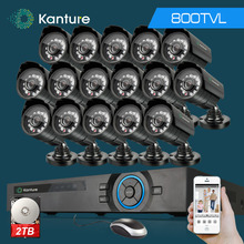 16Channel AHD HDMI 1080P dvr system 16pcs CMOS 800TVL in/outdoor security Surveillance camera kit 16ch 1080P NVR USB 3G WIFI