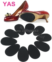 5Pairs/lot Anti-Slip Shoes Heel Sole Protector Pads Self-Adhesive Non-Slip Grip Cushion Accessories -Y207 Drop Shipping