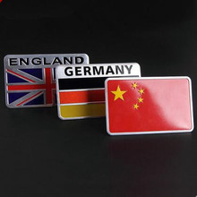 Car-Styling Metal Grille Emblem Badge National Flag Sticker For Subaru Forester Outback Legacy Impreza XV BRZ(China)