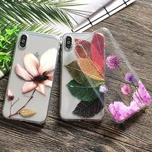 Thin Summer Soft TPU Cover Case For Apple iPhone X 7 8 Case For iPhoneX Case Phone Shell 6Plus Fruit Pineapple Purple Dandelion(China)